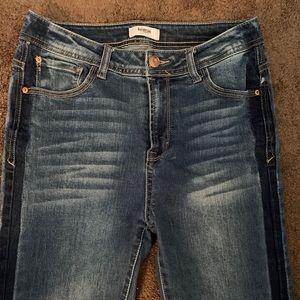 Kensie high rise skinny jeans